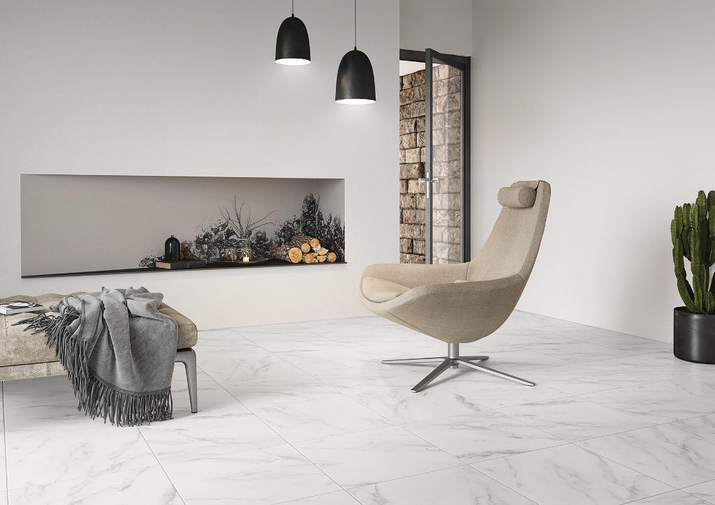 marbre blanc 45x45 carrelages de ravel. Black Bedroom Furniture Sets. Home Design Ideas